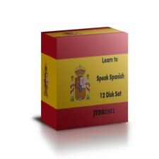 Learn to speak SPANISH - Complete Language Training Course on 12 CDs