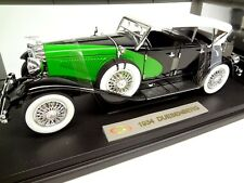 1934 Duesenberg SJ Phaeton 1:18 Signature Models - EL Cord Auburn Automobile Co