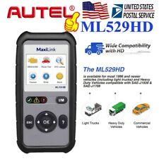 Autel Automotive Heavy Duty Truck Scan Tool OBDII OBD2 EOBD HD Fault Code Reader