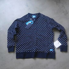Penfield Women Bridgeport Crew Sweater Polka Dot Indigo sz Medium jacket winter