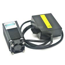 Focusable 405nm 500mW 12V DC Blue/violet Mini Carved laser Module w/ fan cooling