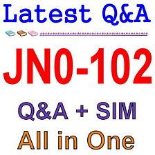 Juniper Junos, Associate (JNCIA-Junos) JN0-102 Exam Q&A PDF+SIM