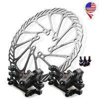 Folding Bike Mechanical Disc Brakes 160/180/203mm MTB Bike Disc Brake Rotor US