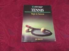 Tennis Steps to Success Soft Cover Book