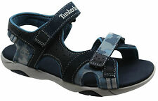 Timberland Earthkeepers EK 2 Strap Canvas Travel Youths Sandals Blue 7971R D48
