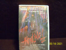 Howling III Howling Terror Continues Beta Video Tape NOT VHS Sealed Betamax