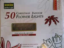 Stein 50 Super Bright Flower Lights - New