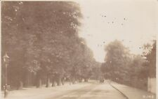 London Real Photo Postcard. Dulwich Village. Southwark. Horse/Carriage. 1913