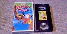 Pluto's Tales WALT DISNEY CLASSIC UK PAL VHS VIDEO 1984 Original Shorts 1942-51