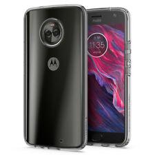 Motorola Moto X4 | Spigen® [Liquid Crystal] Clear Protective TPU Slim Cover Case