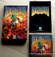 DOOM (IBM PC, DOS, id Software, 1993 mail order box plus CD release)