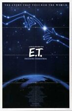 E.T. - original 27x41 Movie Poster- R85 - DREW BARRYMORE, STEVEN SPIELBERG