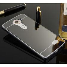 Luxury Mirror Aluminum Metal Frame Back Cover Case For LG V10 G2 G3 G4 G5 K10