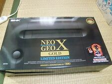 SNK Neo Geo X Gold Limited Edition Console ninja master's NEW UNUSED NOS 2