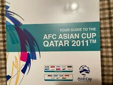 More details for your guide to the afc asian cup qatar 2011. good condition