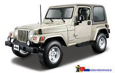 Jeep Wrangler Sahara Rosso 1 18 Bburago