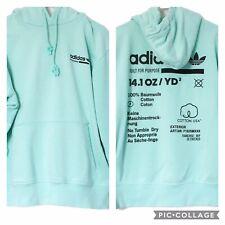 Adidas Mens Medium Kaval Sweatshirt Hoodie Built For Purpose Mint Green