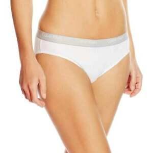 Calvin Klein Women's CK One Cotton Cheekini Brief, Panty, White