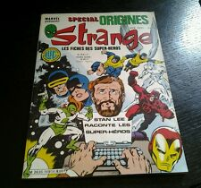 Special origines strange N 169 bis hors serie
