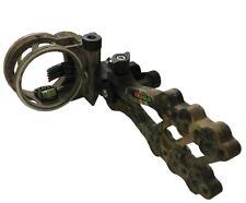 New Truglo Xtra Camo Hyper Strike 5 Pin Archery Bow Sight W/ Light TG5405J