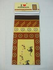 New listing Tea Towel 100% Cotton Kangaroos Design Souvenir Gift with Love from Australia