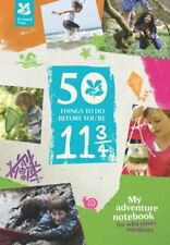 50 Things to Do Before Your 11 3/4 (My Adventure Notebook), The National Trust |