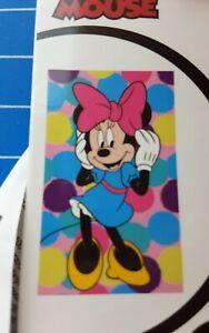 Disney Minnie Gesichtstuch, Handtuch 30 cm  x 50 cm Disneyana 100 % Baumwolle