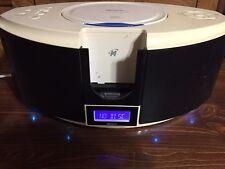 MEMOREX Mi1111-White CD Radio, iPod, Audio System - WORKS GREAT!