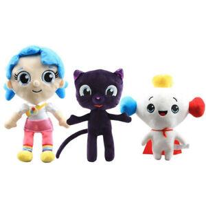 True And The Rainbow Kingdom Plush Toy Bartleby Cat & True Stuffed Doll Cute