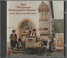 DREHORGEL CD: Drehorgel Musik, Klassische Melodien Marjosser Drehorgel Orchester
