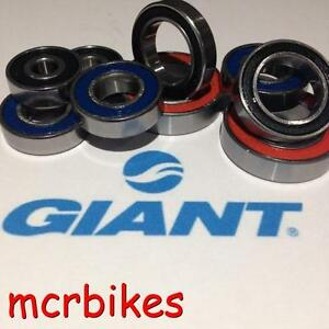 GIANT TRANCE/REIGN  13> FRAME PIVOT BEARINGS CHROME STEEL REPLACEMENT BEARINGS