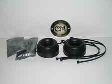 Leyland Morris Mini and Moke Inner Pot Joint CV Boot Kit PAIR with Grease/Ties