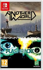 Another World / Flashback Double Pack For Nintendo Switch (New & Sealed)