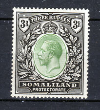 Somaliland Protectorate KGV 3 Rupees lmmint SG71 Cat £85 1919  [S2004]