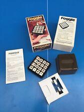 JEU de société / FOGGLE Chrifres Capiepa 1à8 joueur 1977 type COGGLE BOGGLE N°14