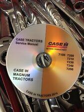 BEST Case IH 7210 7220 7230 7240 7250 Magnum Tractor Service Repair Manual CD