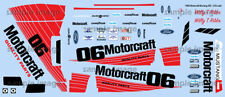 1985 Motorcraft Mustang GTO  water transfer decals Revell, Willy T Ribbs 1/25