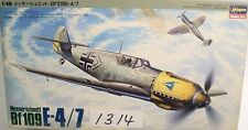 Hasegawa J002 Messerschmitt Bf109E-4/7 Lutwaffe 1/48