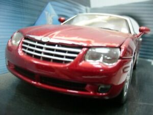 WOW EXTREMELY RARE Chrysler Crossfire 2+2 3.2L 2002 Red met 1:18 Solido-Auto Art