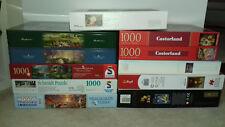 12 x Puzzle 1000-2000 Teile Thomas Kinkade Schmidt Trefl Castorland Sammlung
