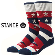 Stance Socks Contender S Large USA Flag Stars Stripes July 4th