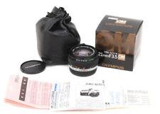 New Old Stock Olympus OM-System Zuiko Auto-W 21mm f/3.5 OM Lens