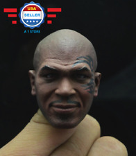 1/6 Mike Tyson Head Sculpt Boxing King Tattoo For Hot Toys COOMODEL Male Figure