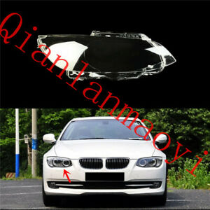 Right Side Clean Headlight Cover With Glue For BMW E92 3-Series Coupe 2007-13