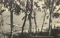 Michigan, MI, Lake Huron, Camp Rankins Beach Postcard