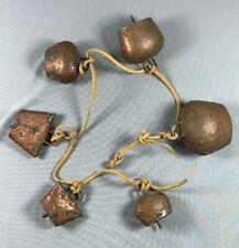 Vintage Primitive Copper Bell Windchime