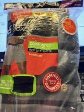 Hanes Tagless Boxer 5 Pack Mens Dark Grey 3XL