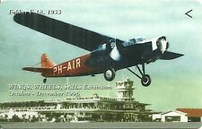 RARE / CARTE TELEPHONIQUE - AVION FOKKER F-18 : 1933 - WINGS PLANE / PHONECARD