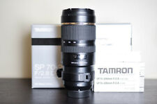 Tamron AF 70-200mm F/2.8 VC FX Telephoto Lens - For Nikon!