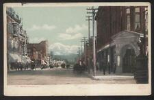 Postcard SAN BERNADINO California/CA  Commercial Area Business Storefronts 1907